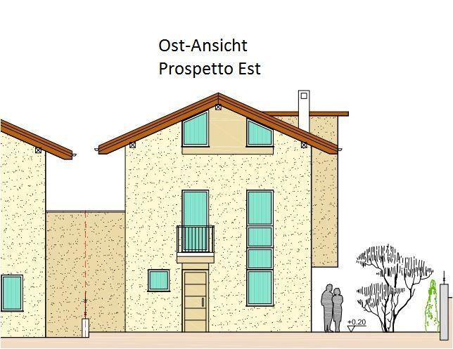 Nuova costruzione porzione di casa con giardino lifandi for 4 piani di casa in garage per auto in tandem